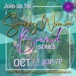 Saavy Women: Brunch Series 2020_October